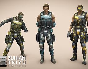 Hitech Ranger 3D model