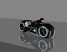 3D print model blue Moto Bike