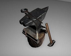 3D asset realtime Anvil
