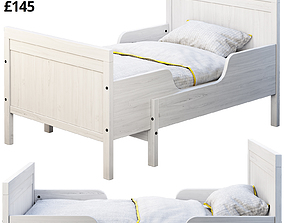 3D model Ikea Sundvik 4 bed