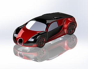 2005 Bugatti For 3D Printing