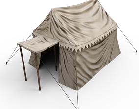 Big Tent 3D asset