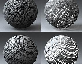 3D Syfy Displacement Shader H 001 j