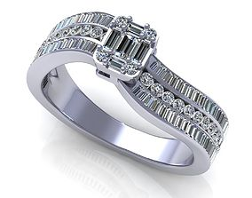 3D print model Wedding Ring R011
