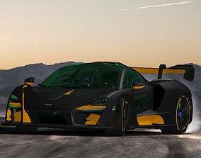 McLaren SENNA 2019 3D print model