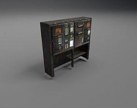 Vintage Electric Control Box - Old Electrics 3D asset