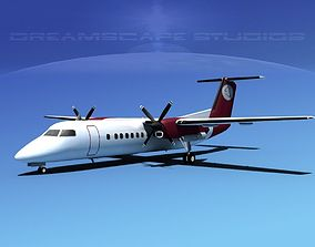3D DeHavilland DHC-8-Q300 Petro Air