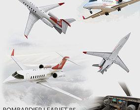 Bombardier Learjet 85 3D model