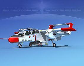 3D Rockwell OV-10 Bronco USAF 1