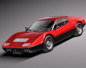 Ferrari 365 GT4 BB 1973 - 1984 3D model