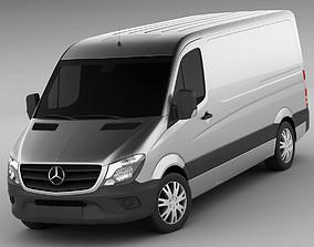 3D model Mercedes Sprinter 2014 standard