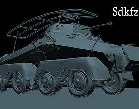 3D model German Sdkfz 232