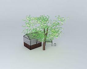 Garden Maisons du Monde 3D model