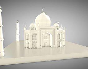 Taj Mahal 3D asset