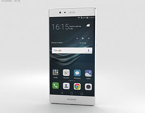Huawei P9 Ceramic White 3D model mobile