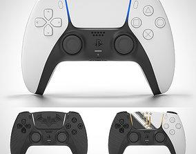 PS5 DualSense Controller 3D model