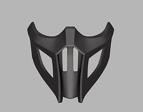 3D print model Noob Saibot mask from Mortal Kombat 9 and