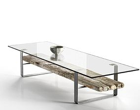 Transparent Coffee Table 3D model