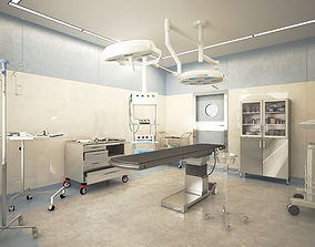 doctor 3D Surgical room for operations