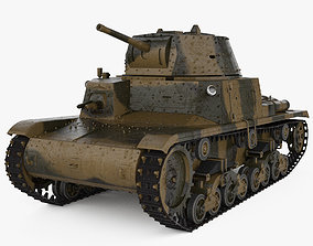 3D model Fiat-Ansaldo M13-40