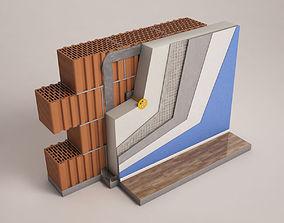 3D Wall Insulation Model