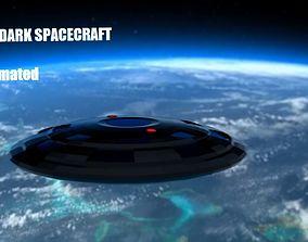 3D model UFO Spaceship Animated
