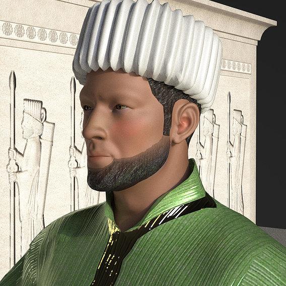 Ancient Persia - Immortal Guard Characters