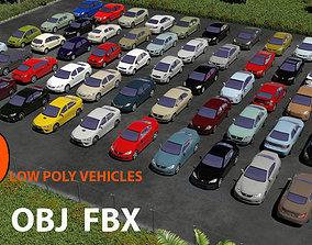 3D asset TOP ASIAN CARS