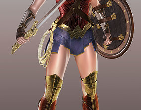 Wonder Woman Statue - Stl model Ready for