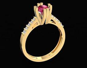 3D print model 1670 Diamond Ring
