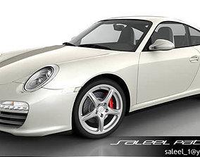 Porsche 911 Carerra 2012 3D model