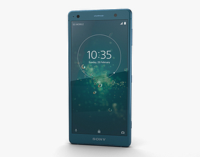 Sony Xperia XZ2 Deep Green 3D model
