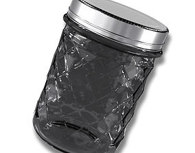 3D Glass Jar lid