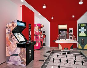 Game Machines Collection 3D