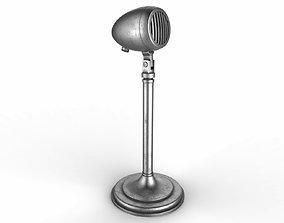 3D model Vintage Microphone vintage