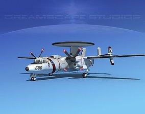 3D Grumman E-2C Hawkeye V10