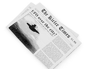 Newspaper 3D model