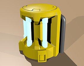 3D print model Plasma Generator wh40k scale