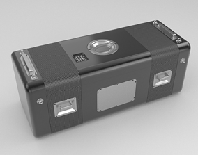 Containers for the transport of trucks 3D