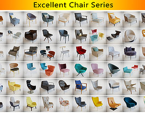 Excellent Chair Series 3D model