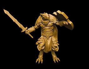 3D printable model Dragonborn Heavy