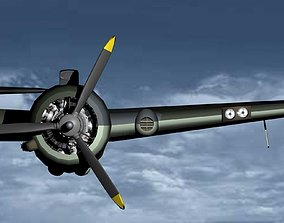 3D Beaufighter and Hercules engine