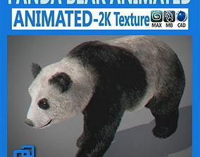 Animated Panda Bear 3D