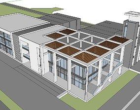 3D Office-Teaching Building-Canteen 59