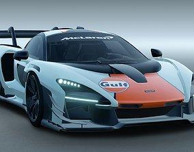 McLaren Senna GTR 2020 3D