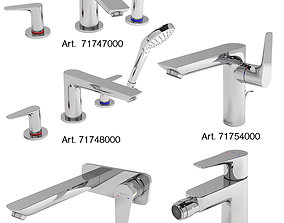 3D model Kitchen Faucet Collection HANSGROHE Talis E