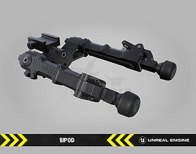 3D asset Bipod - FPS Gun Attachment for Unreal