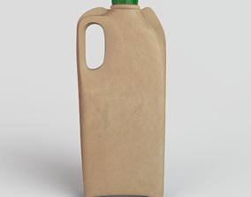 3D model Green Bottle
