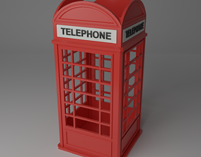 3D print model Telephone Booth