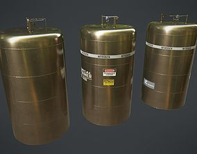 Chemical Container 4 3D model low-poly